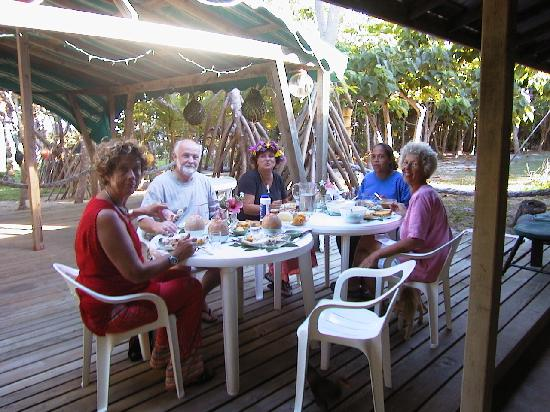 Ha'apai Resort at Billy's Place: X-mas dinner at Billy´s Place 2002