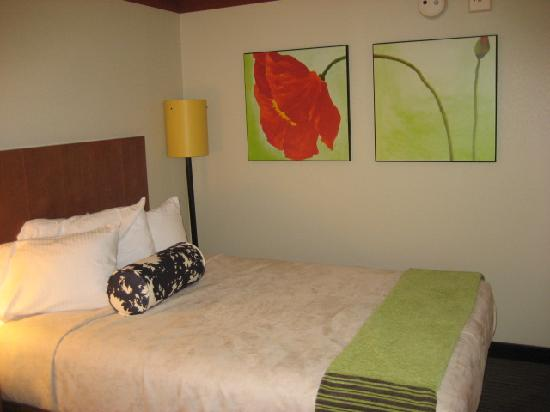 La Quinta Inn & Suites Durham Research Triangle Pk: The Bed again