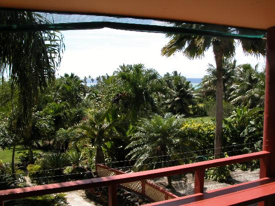 Ambala Garden Lodge: View from Terrace