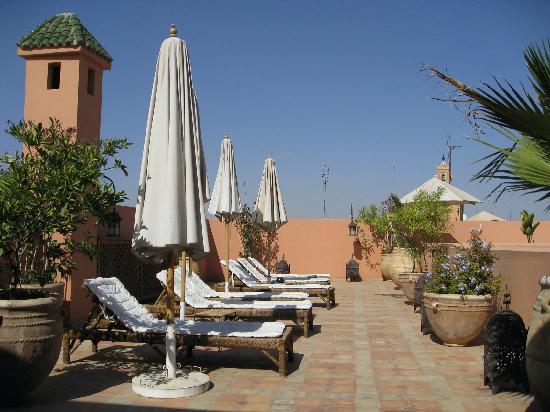 Riad Nabila: Roof terrace