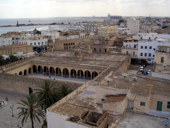 ‪سوسة, تونس: Rooftps at Sousse‬
