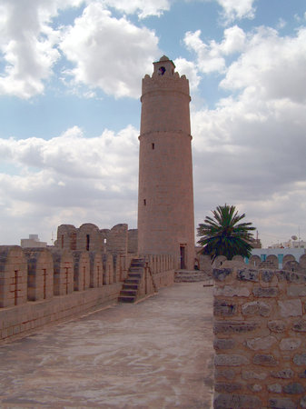 Szúsza, Tunézia: Tower of the Ribat at Sousse
