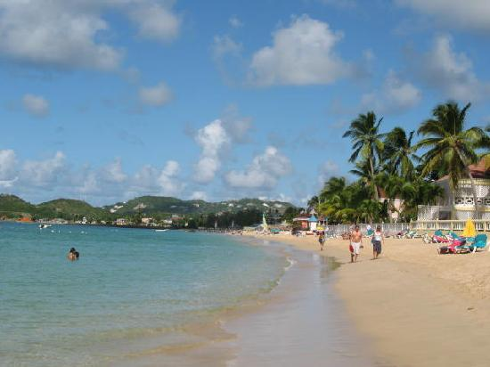 Reduit Beach - Picture of Coco Palm Resort, Gros Islet - TripAdvisor