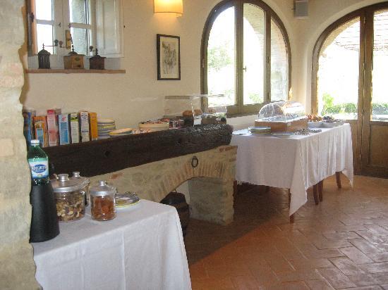 Casa Portagioia: lovely breakfast