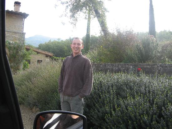 Casa Portagioia - Tuscany Bed and Breakfast: Marcello-a great host to his guest!