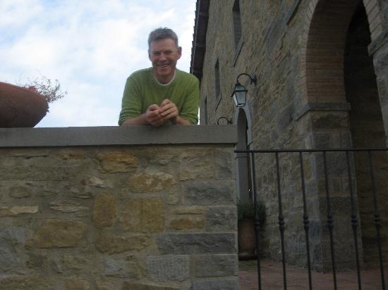 Casa Portagioia - Tuscany Bed and Breakfast: Terry- a fabulous host of Casa Portagioia