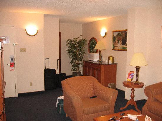 Hotel Universel Montreal : cote salon