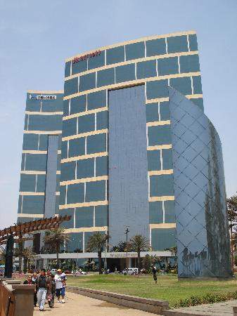JW Marriott Hotel Lima: Vista del JW Marriot Lima