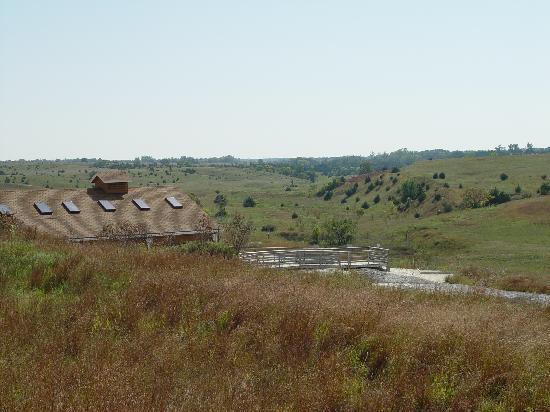 Royal, NE: Rhino Barn and ashfall valley