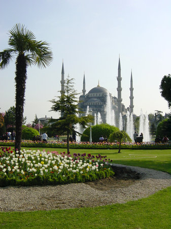 Istanbul, Turkey: Blue mosquee