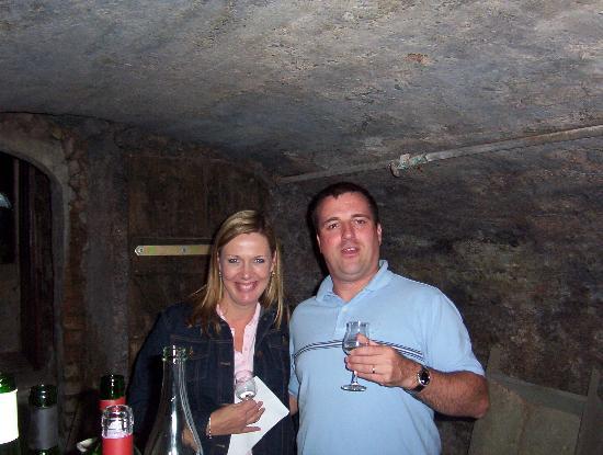 Mosel-Landhaus: Wine cellar tasting