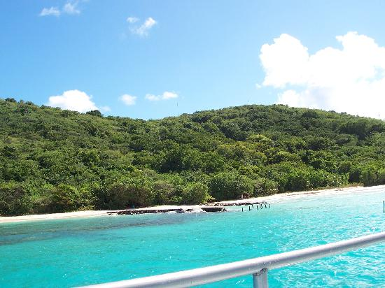 Playa Azul: culebra shot off the boat