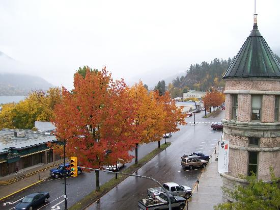 Hume Hotel & Spa: View from one of the windows