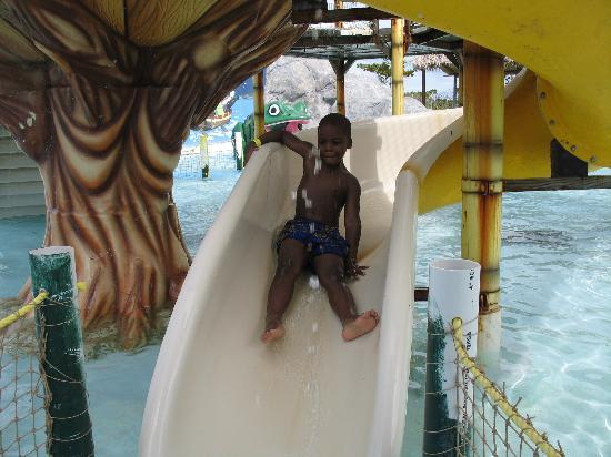 Kool Runnings Water Park: His 20 hundreth time