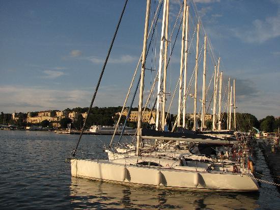 Pula, Croacia: marina