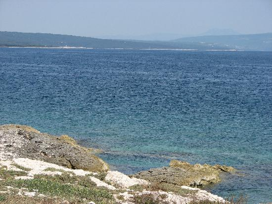 Pula, Croatia: great blue sea