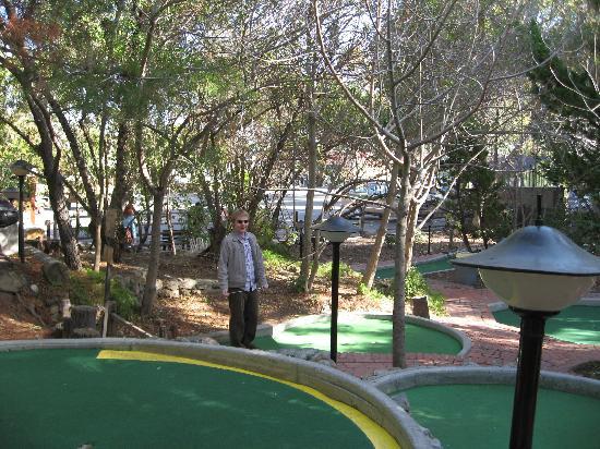 Golf Gardens Miniature Golf: on the course