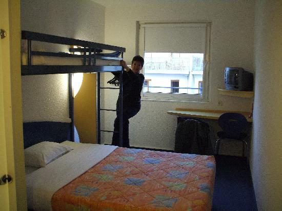 ibis budget Hamburg St. Pauli Messe: Bed and bunk