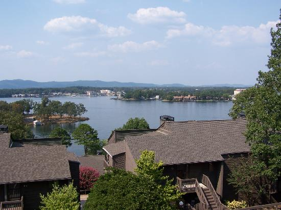 Lake Hamilton, AR: VIEW FROM BALCONY