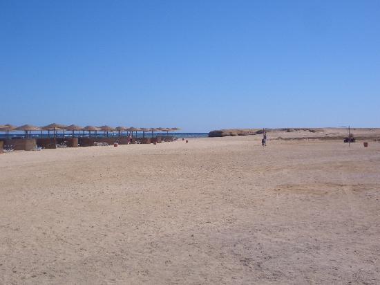 Three Corners Fayrouz Plaza Beach Resort : La plage