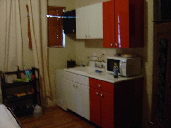 Lily Leon Hotel: Kitchen space