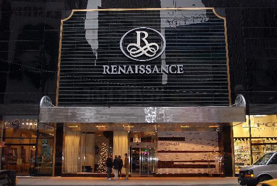 Decoration de Noel - Picture of Renaissance New York Times Square ...