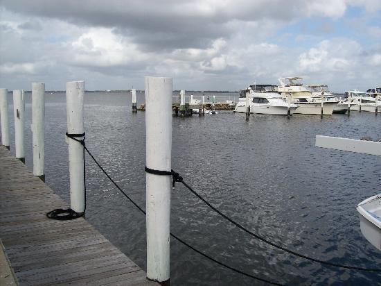 Fishermen's Village Resort : View from pier.