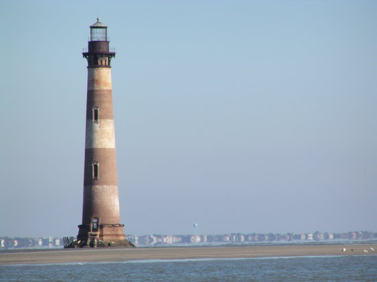 Charleston, Caroline du Sud : Morris Island Lighthouse