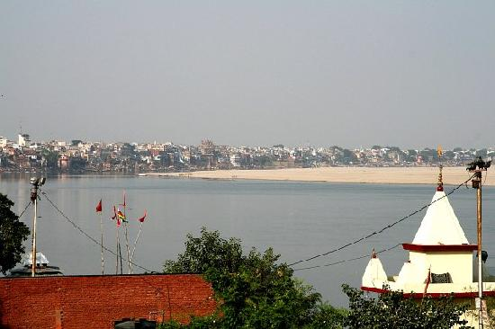 View from Hotel Temple on Ganges