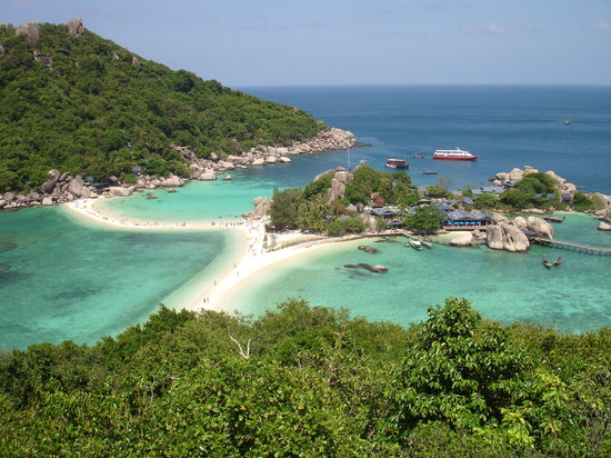 Koh Tao, Tayland: the island