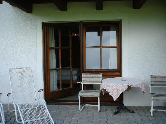 Hotel Gablerhof: patio