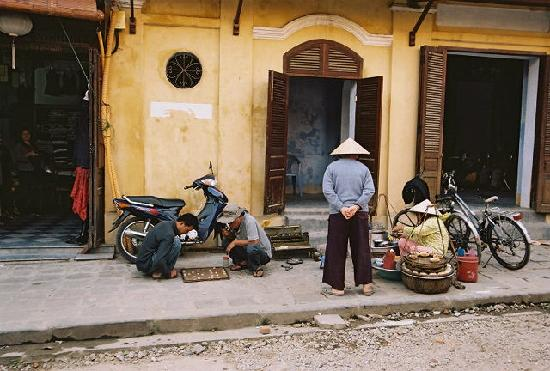 Thien Thanh Boutique Hotel : Hoi An streetside