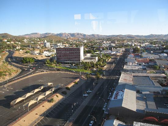 AVANI Windhoek Hotel & Casino: view from roof terrace