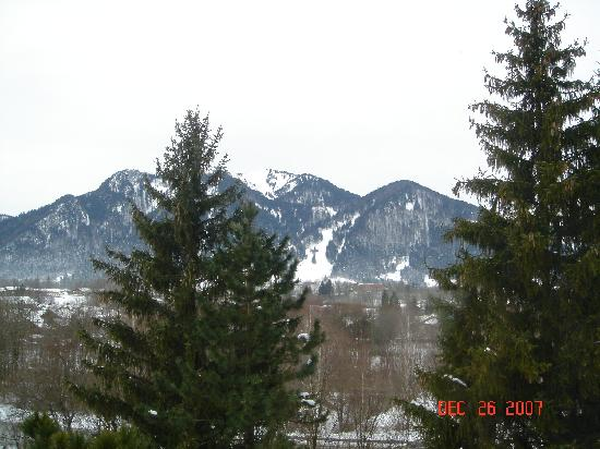 Arabella Brauneck Hotel: View from Balcony