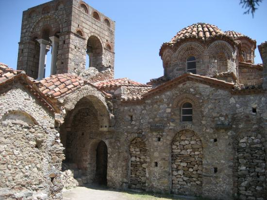 Sparta, Greece: one of the churches