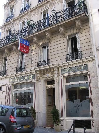 Grand Hotel du Loiret : Hotel's facade