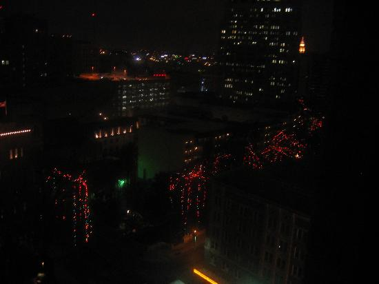 San Antonio Riverwalk During Christmas.Christmas Lights On The River From Suite 1422 Picture Of