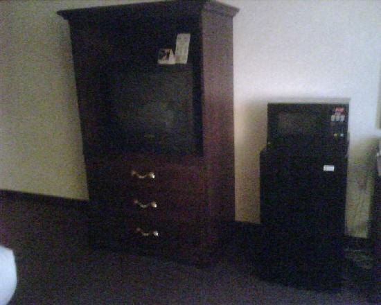 Holiday Inn Express Bourbonnais (Kankakee / Bradley): TV, microwave and fridge