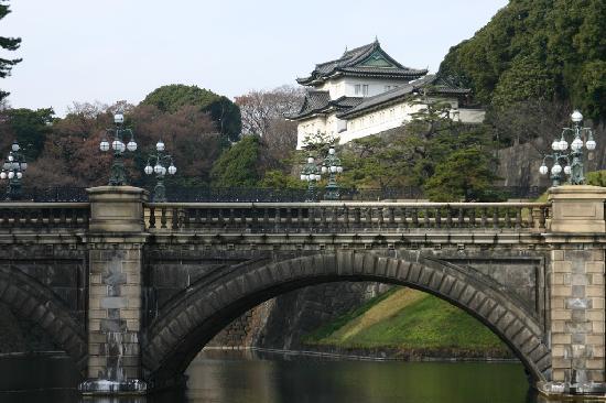 Hotel Fukuoka Kaikan: More views along the walk around the Imperial Gardens