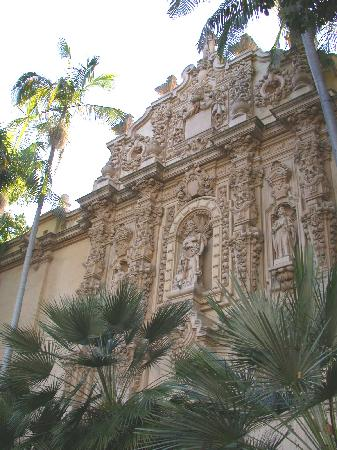 Example of Balboa Park architecture