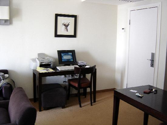 computer terminal in living room picture of sea executive suites tel aviv tripadvisor