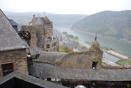 Castle Hotel Auf Schoenburg: View from Tower Room