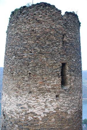 Burghotel Auf Schönburg: Tower outside our Tower Room
