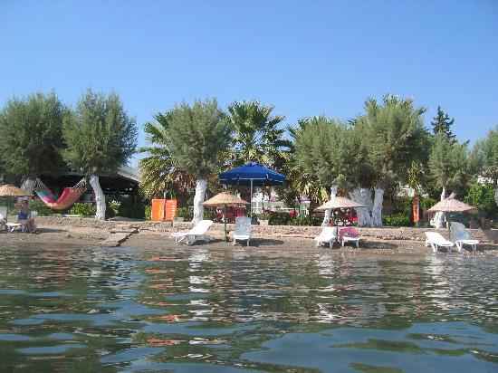 Ortakent, Turki: view from the canoe