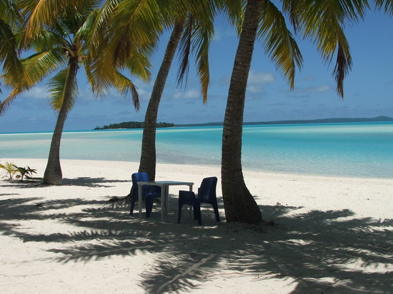Aitutaki, Cook Eilanden: One Foot Island w/Private Lunch
