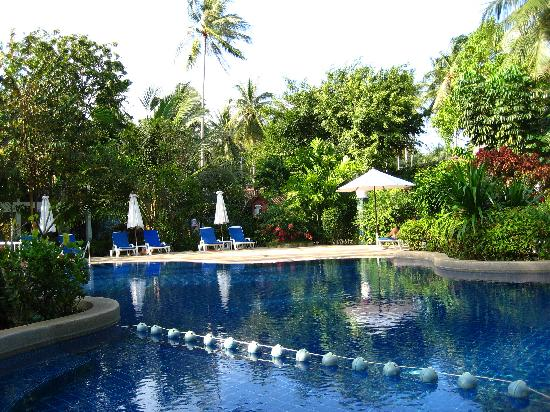 Paradise Beach Resort: One of the swimming pools