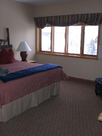 Jackson Hole Lodge: Master Bedroom - View 1