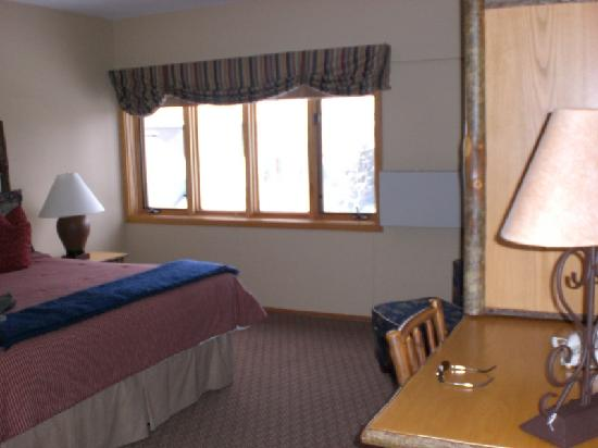 Jackson Hole Lodge: Master Bedroom - View 2