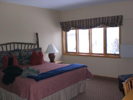 Jackson Hole Lodge: Master Bedroom - View 3