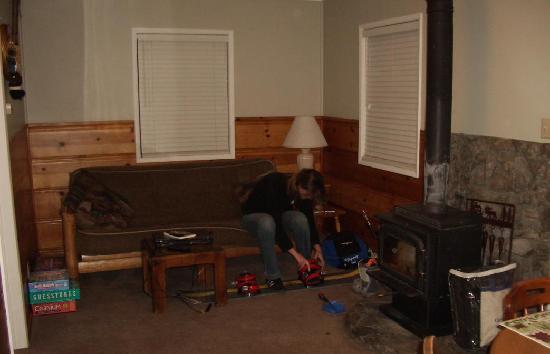 June Lake, Kaliforniya: Living room